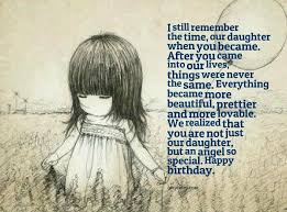 Beautiful Quotes For Daughters Birthday Best of I Still Remember The Time Our Daughter When You Became After You