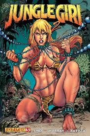 Jana jungle girl bondage