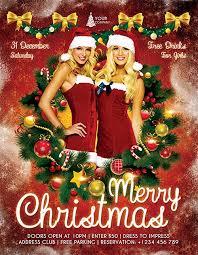 Free Psd Flyer Templates Christmas Robertrods Com