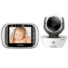 motorola 5 portable digital video baby monitor. amazon.com : motorola mbp853connect dual mode baby monitor with 3.5-inch lcd parent and wi-fi internet viewing 5 portable digital video