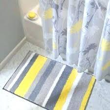 fashionable grey bathroom rugs yellow and grey bath rugs interesting and fun bathroom area rugs yellow