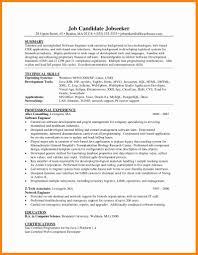 Job Developer Resume Sample Web Samples Career Java Picture