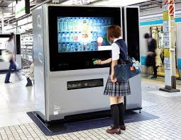 Vending Machine Girl Custom Acure Digital Vending Machine With 48Inch TouchScreen Quest For