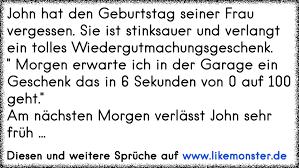 John Hat Den Geburtstag Seiner Frau Vergessen Sie Ist Stinksauer