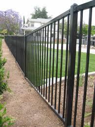 6 foot prefabricated metal fence