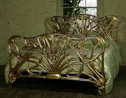 art bedroom furniture. gilt art nouveau bed maybe not the or bedroom furniture