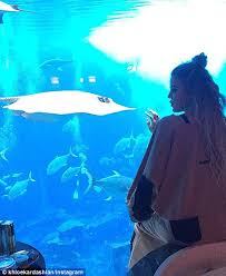 underwater hotel room at night. Loving The Attraction: On Monday Beauty Showed Off Her Hotel Room In Dubai As Underwater At Night