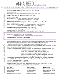 Photographer Resume Examples Photography Resumes Examples Resume Templateskills Creative 37