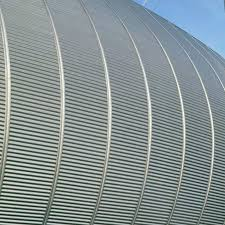 corrugated sheet metal steel for facade cladding roof frequence