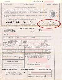 New York Apostille For Birth Certificate