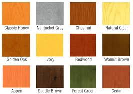 Wood Stain Comparison Chart Interior Wood Stain Amyhighton Com