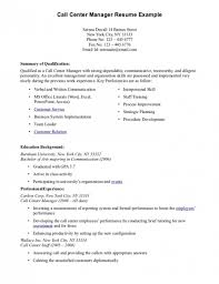 Resume For Call Center Agent Without Experience Sample Resume Call Center  Resume Examples ...