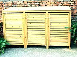 outdoor garbage storage outdoor garbage can storage bin garbage storage bins medium size of outdoor garbage