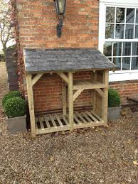Log Store - Heavy Duty Bespoke Timber Log Store - Free Delivery and  Assembly in Garden