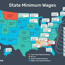 Arizona Minimum Wage Chart 2020 Federal And State Minimum Wage Rates