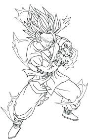 Coloring Pages Of Goku Free Coloring Pages Of Dragon Ball Z Super 5