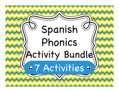 Spanish language printable worksheets i abcteach provides over 49,000 worksheets page 1. Spanish Phonics Pronunciation Activities Teaching Resources