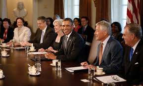 Obama And Cabinet A Curious Strategy For The Obama Administrations Final Stretch
