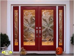 front doors glass side panels charming light red double front entry doors with double sidelights
