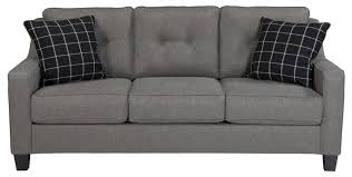 benchcraft brindon contemporary queen sofa sleeper with track arms inside sofa sleepers queen