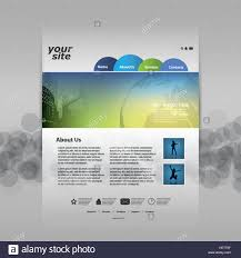 Modern Colorful Abstract Web Site Creative Design Template Layout