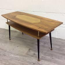 vintage 60s furniture. Vintage 60s Teak Retro Coffee Table With Inlayed Top Mid Century | Vinterior Furniture