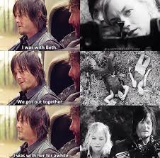 walking dead beth and daryl hook up