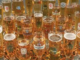 image custom beer glass with printing