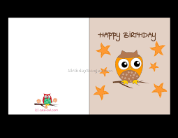 printable birthday card free gangcraft net