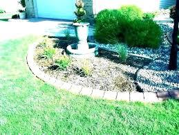flower lawn edging bricks brick effect bed borders materials for garden beds edged marvelous decoration brick garden
