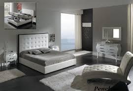 Leather Bedroom Chair Elegant Furniture Bedroom Set Design With Striped Pattern Rug On