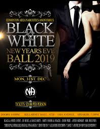 The Edmonton Area New Years Eve Ball 2019 A Black White Event
