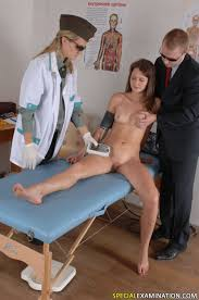 Kinky group medical exam of a nude miss Pichunter Online porn.