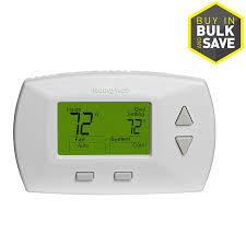 honeywell deluxe digital non programmable thermostat at lowes com honeywell deluxe digital non programmable thermostat