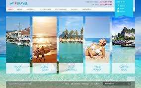 Travel Templates 4 Travel Joomla Template Version 3 On Behance