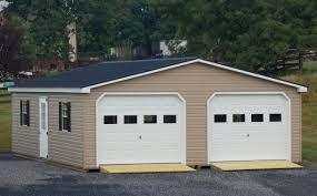 24x30 modular 2 car garage