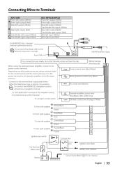 kdc x589 wiring kenwood excelon radio cd instruction manual
