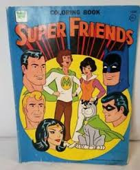 (the version of batman vs superman the artificial red krypstonite that mr.mxyzptlk gave to lex infected superman causing him not to be himself to not behave like himself, and well some one so powerful had to be stopped. Super Friends Coloring Book Whitman Superman Batman Wonder Woman Aquaman Ebay