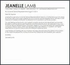 Coolcustomer Service Representative Cover Letter For