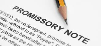 Writing A Promissory Note For A Personal Loan With Sample Sample