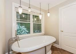 master bathroom with nickel beehive pendant lighting bathroom pendant lights