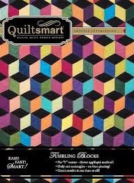 Small Picture 8 best Quiltsmart Tumbling Block images on Pinterest Tumbling