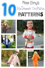 Halloween Costume Patterns Classy 48 Free Halloween Costume Patterns For Boys