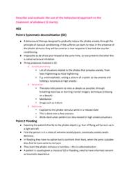 describe and evaluate the use of the behavioural approach to the  page 1