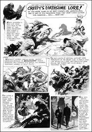 Frank Frazetta Comic Book Page