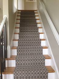 image of narrow stair carpet runner