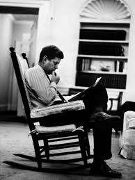 john f kennedy oval office. President John F. Kennedy Sitting Alone, Thoughtfully, In His Rocking Chair The Oval Office F Y