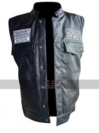mayans m c northern cali jd pardo ezekiel reyes black biker leather vest