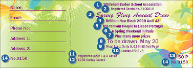 Raffle Ticket Poster Template Spring Fling Ticket Template