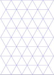 printable grid paper 1 2 inch triangle graph paper printable isometric with 1 2 inch figures